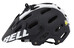 Bell Super 2 Helm matte black/white viper